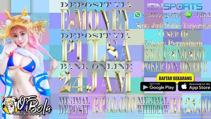 Judi Online Terpercaya Minimal Deposit 10 Ribu