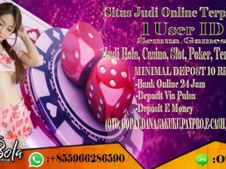 Situs Judi Online Terpercaya Deposit Pulsa